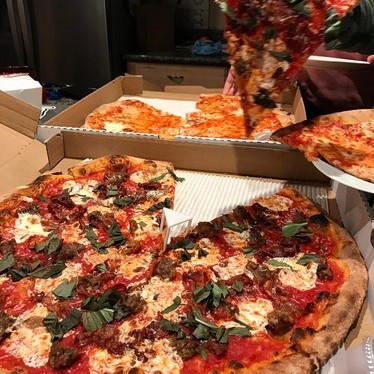 Pizza at Trifecta Tavern and Bakery