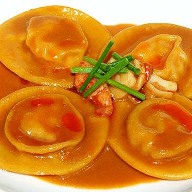 Lobster panzerotti at Acquerello