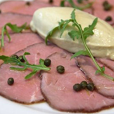 Vitello tonnato  at Perbacco