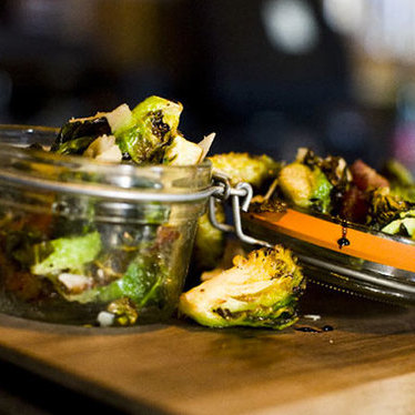 Crispy Brussels sprouts at BO-beau kitchen + bar