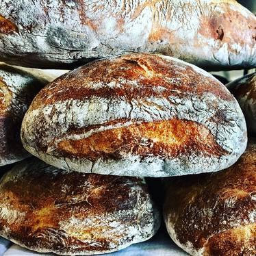 Artisan bread at Acorn