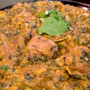 Lamb saag at Tarka Indian Kitchen