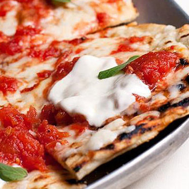 Mistral thin crust pizzas at Mistral