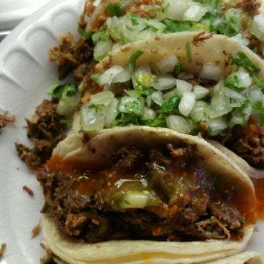 Tacos at Lilly's Tacos