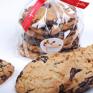 Chocolate chip cookies at Jacques Torres Ice Cream Shop