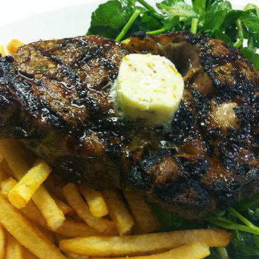 Steak frites at Central Kitchen