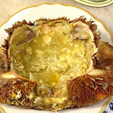 Half cracked crab at Swan Oyster Depot