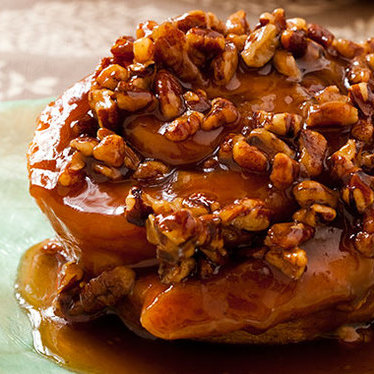 Sticky bun at Flour Bakery + Cafe