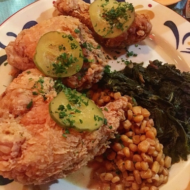 Austin Leslie's Fried Chicken w/ 2 Sides at Jacques-Imo's Cafe
