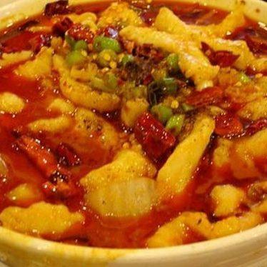 Szechuan spicy fish soup at Gourmet Dumpling House