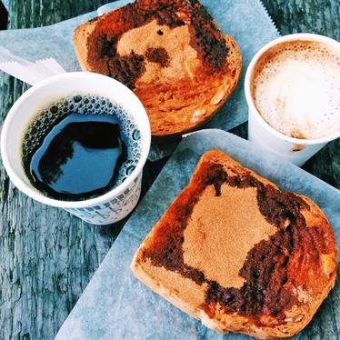 Cinnamon toast at Trouble Coffee