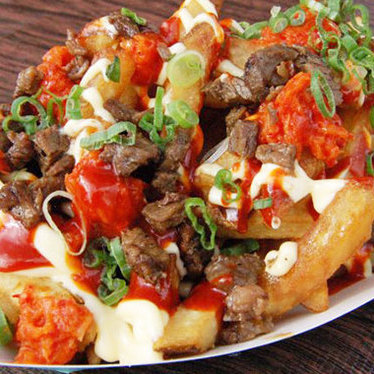 Gamja fries at Namu Street Food