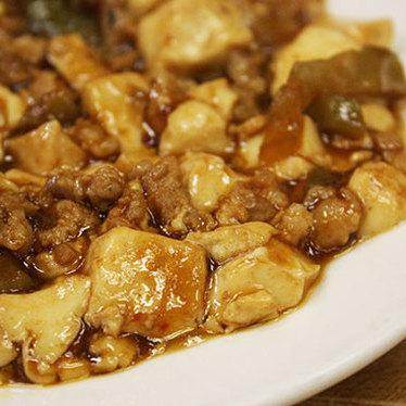 Ma po tofu at China Palace