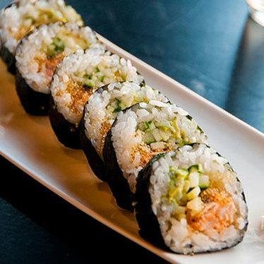 Spicy tuna roll at ICHI Sushi