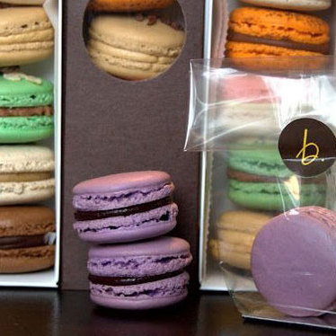 Macarons at B. Patisserie