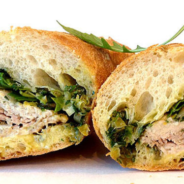 Napa porchetta sandwich at Fatted Calf