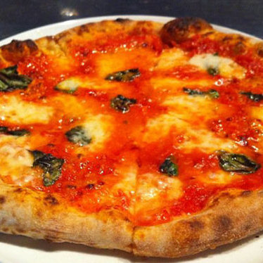 Margherita pizza at Bistro Don Giovanni