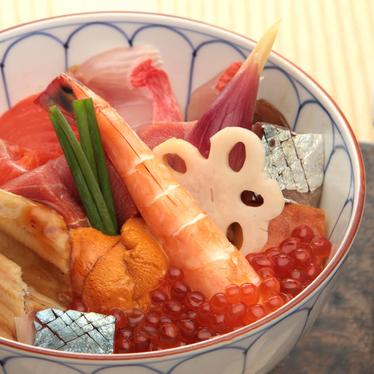 Special chirashi at Sushi Tsujita