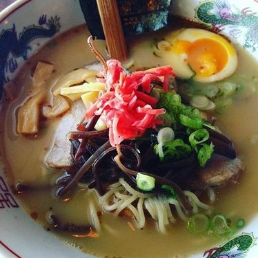 Hakata Ramen at Yujiro Japanese Restaurant