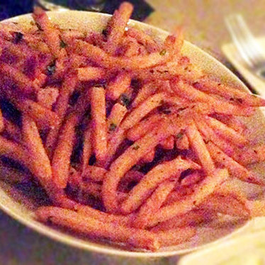 Fries w/ aioli at Bouligny Tavern