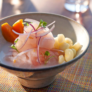 Cebiche sampler at La Mar by Gaston Acurio at Mandarin Oriental, Miami