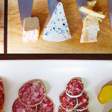 Cheese and charcuterie at Mission Cheese