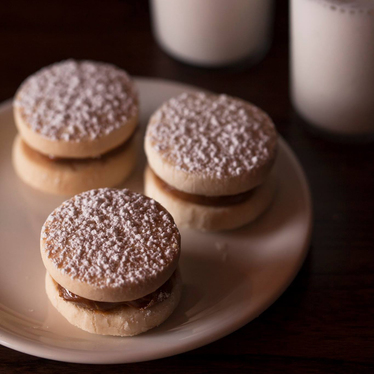 Alfajores at Lolinda