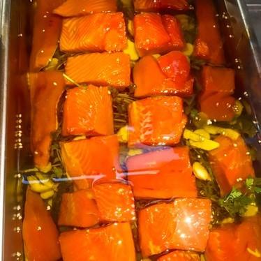 Salmon at Mbar