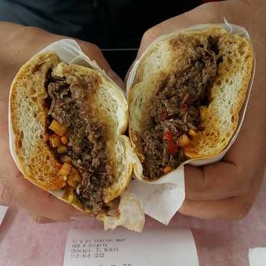 Sandwich at Al's Beef