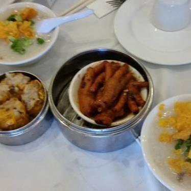 Dim sum at CBS Seafood Restaurant