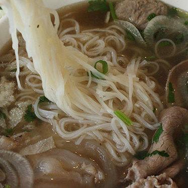 Beef noodle soup at Thai Kitchen
