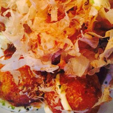 Takoyaki at Izakaya Sakura