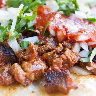 Al Pastor taco at Tannya's Taqueria