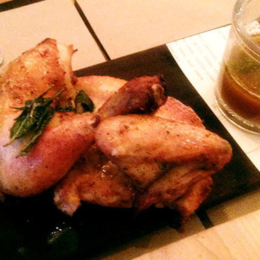 Roast chicken at Union