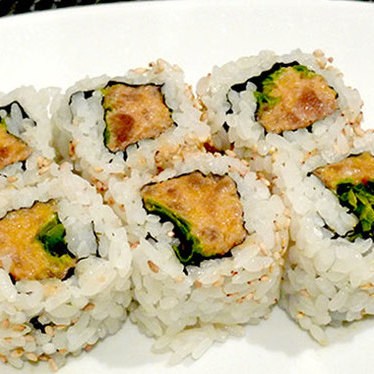 Spicy tuna roll at Kaz Sushi Bistro