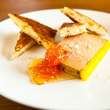 Foie gras terrine at Lark
