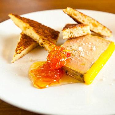 Foie gras terrine at Lark