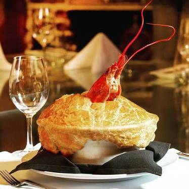 Lobster pot pie at The Forge
