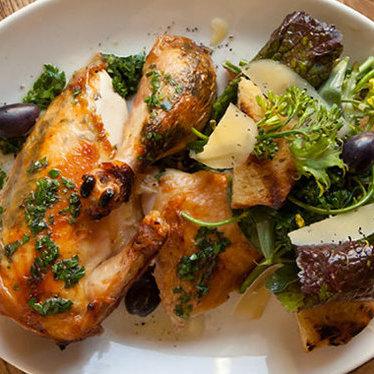 Rotisserie chicken at Nopa