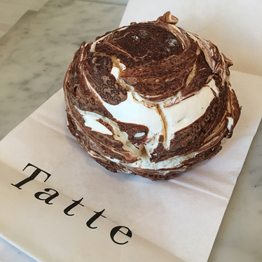 Chocolate cloud at Tatte Bakery & Cafe