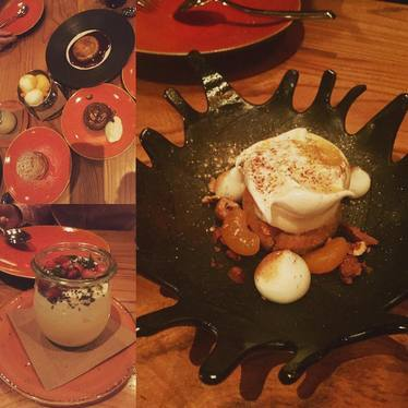 Desserts at Cotogna