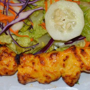 Chicken kabob at Rose Kabob Restaurant
