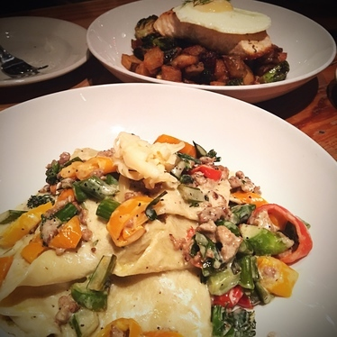 House made pappardelle  at Oddfellows