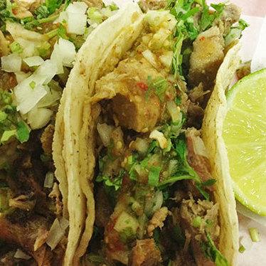 Tacos at La Placita Taquiera
