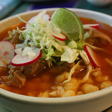 Pozole at San Jalisco