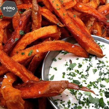 Sweet potato fries at Pono Burger