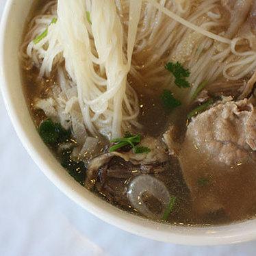 Phở tái chín (#46) at Pho & Cafe Viet Huong