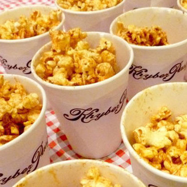 Benton's bacon grease popcorn at Khyber Pass Pub
