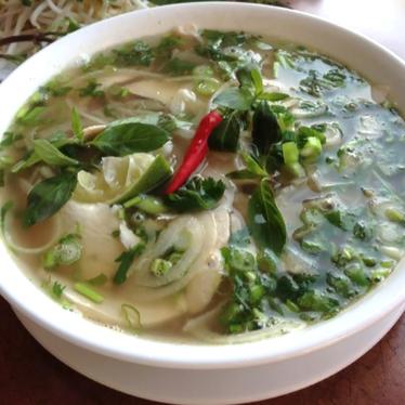 Chicken phở at Pho Rang Dong