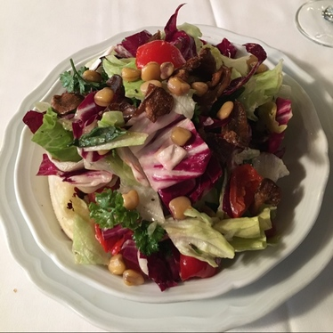 Chopped salad at Carbone
